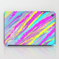the strokes iPad Cases featuring Colorful strokes. by Pinkpulp