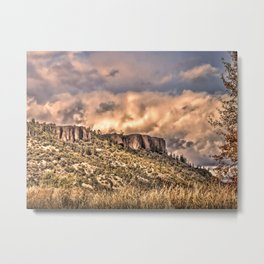 Upper table rock/ OR Metal Print
