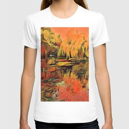 Autumn at the lake T-shirt