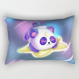 Cute Galaxy Panda Rectangular Pillow