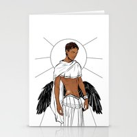 apollo Stationery Cards featuring Apollo by Cassandra Jean