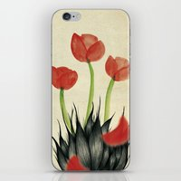 kenzo iPhone & iPod Skins featuring Eau de i; Kenzo Flower by Fhil Navarro
