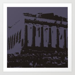 ATHENS3 Art Print
