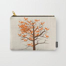 Blazing Fox Tree Carry-All Pouch