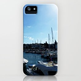Sunlight Harbour iPhone Case