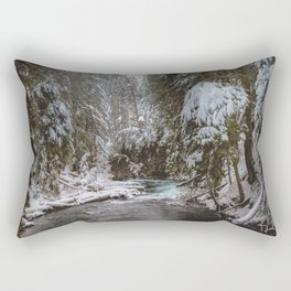 A Quiet Place - Pacific Northwest Nature Photography Rectangular Pillow