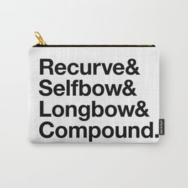 Recurve & Selfbow & Longbow & Compound Carry-All Pouch