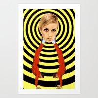 hypnoviolent Art Print