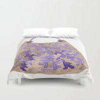 tote bag Duvet Covers featuring Tote 1 by ©valourine