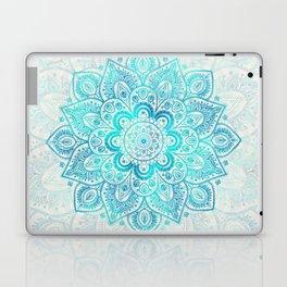 Turquoise Lace Mandala Laptop & iPad Skin
