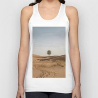 desert Tank Tops featuring Desert  by Gerard Puigmal