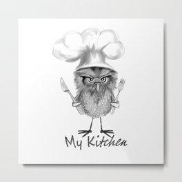 My Kitchen Metal Print