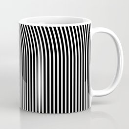 LA echo / Lined frame expanding from LA text Coffee Mug