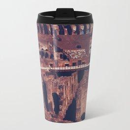 Inside the Colosseum Travel Mug