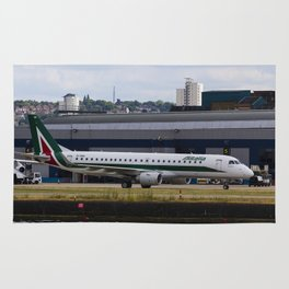 Alitalia  Embraer ERJ-190 London City Airport Rug