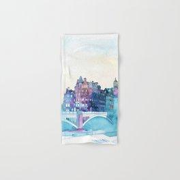 Winter in Edinburgh Hand & Bath Towel