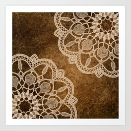 Coffee & Cream Art Print