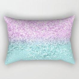Mermaid Girls Glitter #2 #shiny #decor #art #society6 Rectangular Pillow