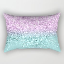Mermaid Girls Glitter #2 #shiny #decor #art #society6 Rectangular Pillow