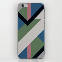 Modernist Dazzle Ship Camouflage Design iPhone Skin