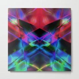 Geometric abstract design Metal Print