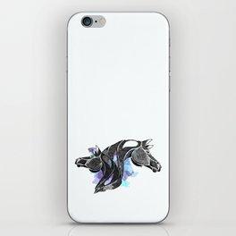 dot of horse iPhone Skin