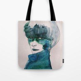 Blue-Green Skin Tote Bag