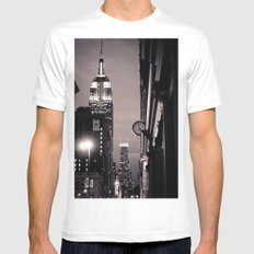 What time is it? Mens Fitted Tee White MEDIUM