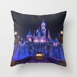 Sleeping Beauty's Castle Throw Pillow