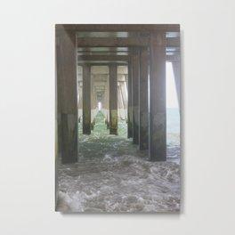 High Tide Pier [2] Metal Print