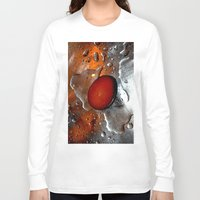 egg Long Sleeve T-shirts featuring egg by  Agostino Lo Coco