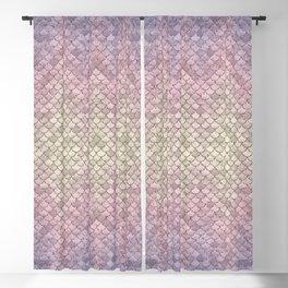 01 Mermaid Scales Blackout Curtain
