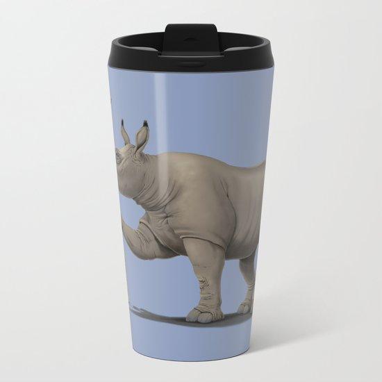 Cork it, Dürer! [HD] (Colour) Metal Travel Mug