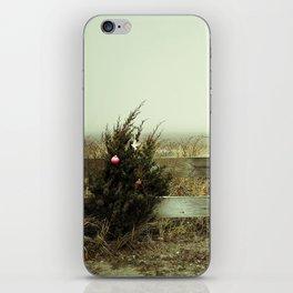 Christmas seaside iPhone Skin