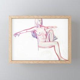 Chilling Framed Mini Art Print