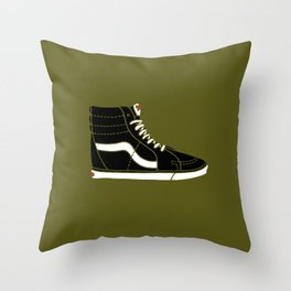 Vans SK8. Hi, Hello! Throw Pillow