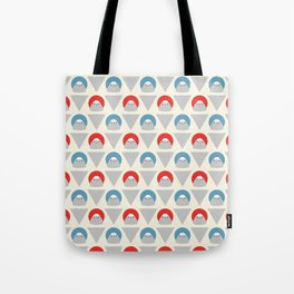Mt Fuji Dots Tote Bag