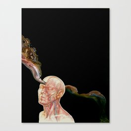Drinking from Mnemosyne Canvas Print