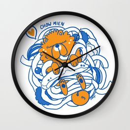 CHOW-MIEN Wall Clock