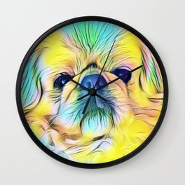 In living color Wall Clock