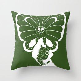 Butterfree! Throw Pillow