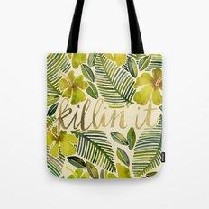 Killin' It – Tropical Yellow Tote Bag