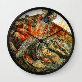 Onomatopoeia Wall Clock