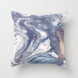 Pale Waves Throw Pillow
