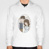 500 days of summer Hoodies featuring 500 days of summer portrait. by Nic Lawson