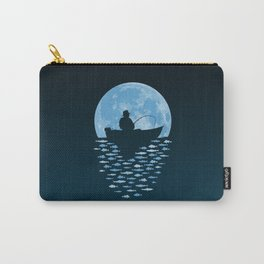 Hooked by Moonlight Carry-All Pouch