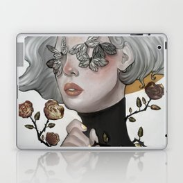 Butterflies and Roses Laptop & iPad Skin