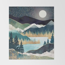 Star Lake Throw Blanket
