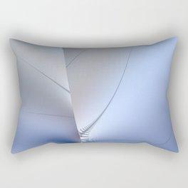 Fractal ice crystals at freezing point Rectangular Pillow