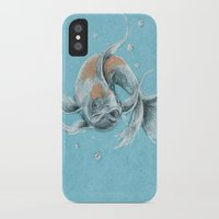 koi fish iPhone & iPod Cases featuring Koi Fish by Daydreamer